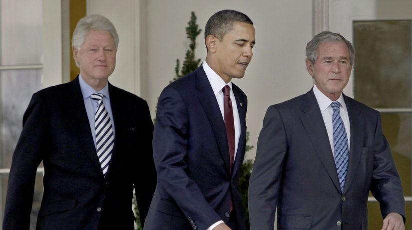 Barack Obama / Bill Clinton / George W. Bush /
