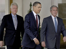Barack Obama / Bill Clinton / George W. Bush /