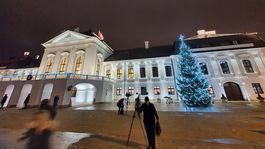 Prezidentský palác, vianočný strom