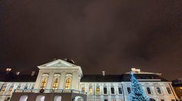 Prezidentský palác, vianočný strom, Zuzana Čaputová