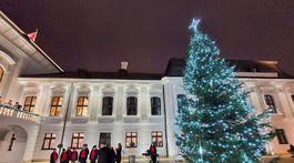 vianočný strom, Zuzana Čaputová