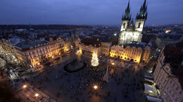 Vianoce, Praha