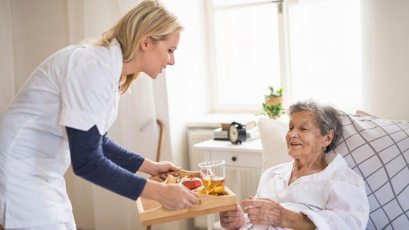 dekubit, preležaniny, pacientka, dôchodkyňa,...