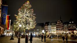 Stromček v nemeckom Frankfurte