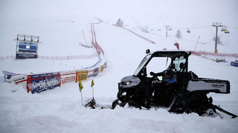 St. Moritz, sneh