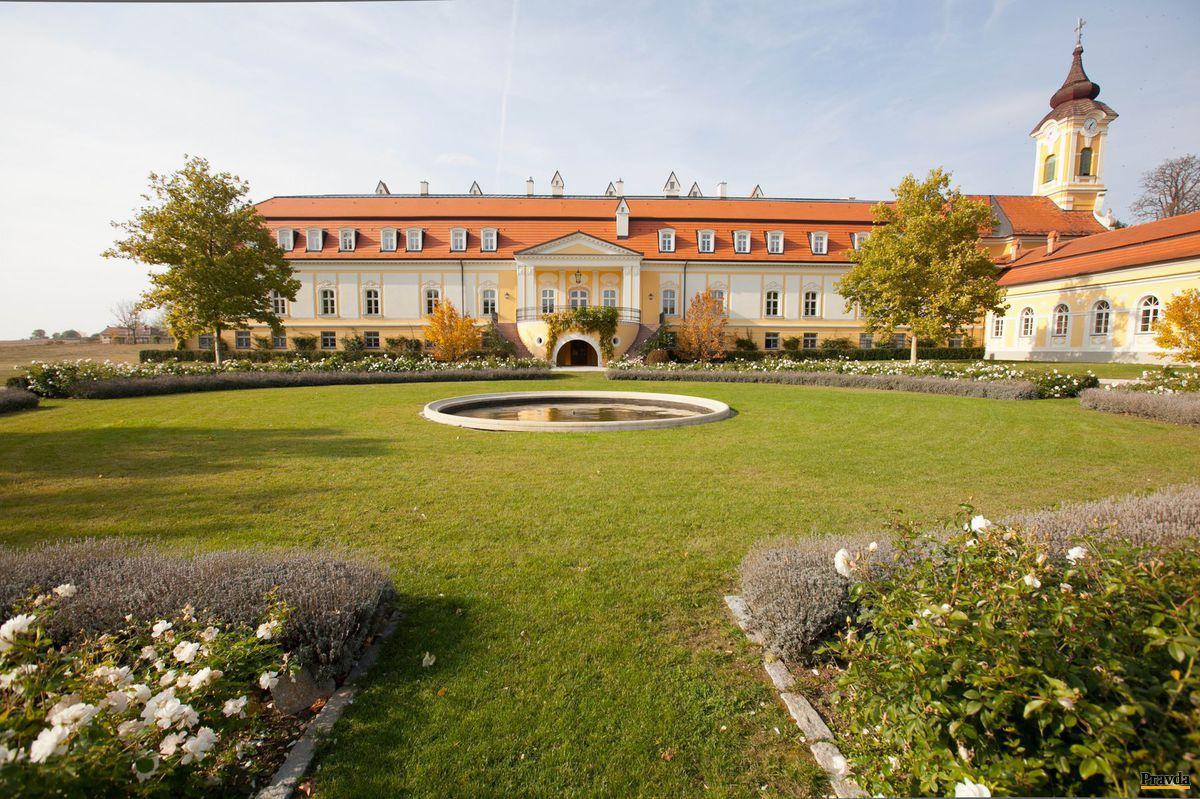 Chateau Belá - zámok krásneho vína.