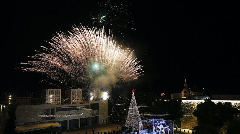 vianočný strom, Betlehem