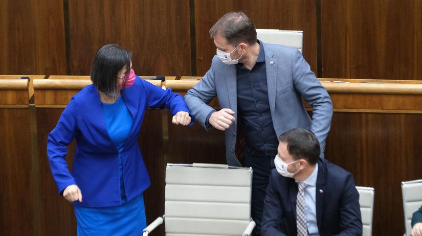 Mária Kolíková, Igor Matovič, Eduard Heger,...