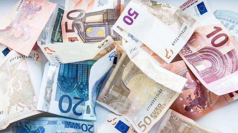 Peniaze / Euro /