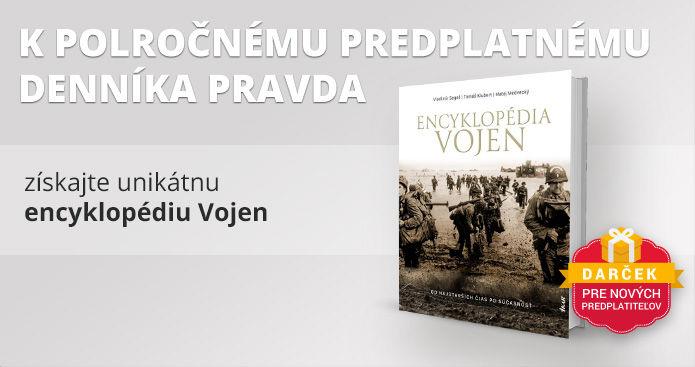 Polročné predplatné s Encyklopédiou vojen