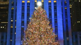 2020 Rockefeller Center Christmas Tree is Lit in NYC