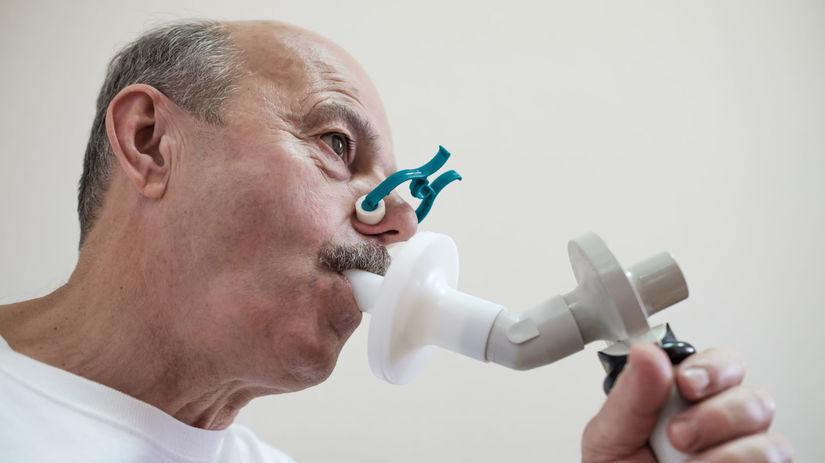 pacient, spirometria, pľúca, ochorenie, vyšetrenie