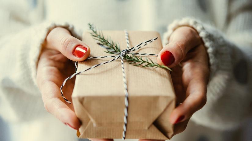 darček, Vianoce, balíček, pošta