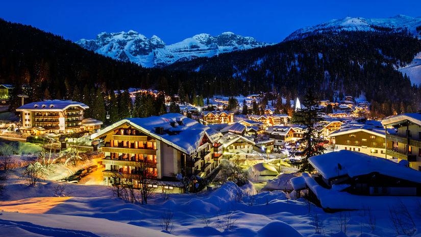 Taliansko, lyžiarske stredisko, hory