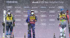 Francúzsko SR Lyžovanie SP obrovský slalom 2.kolo Bassinová