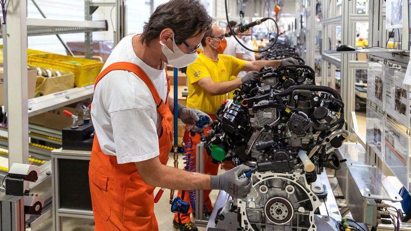 Kia - výroba motorov Žilina