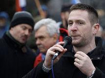 protivládny protest, ĽSNS