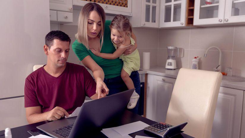 rodina, práca, rady, rada, pomoc, home office