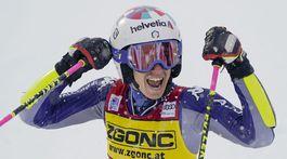 SP obrovský slalom 2.kolo Bassinová