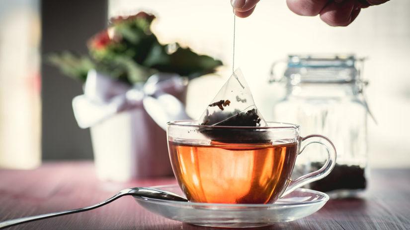 čaj, lúhovanie