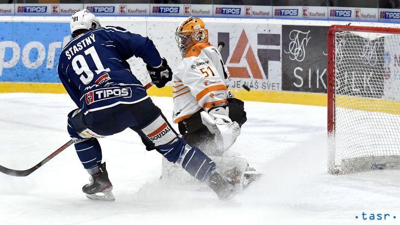 SR Hokej TEL 22.kolo Michalovce Nitra KEX