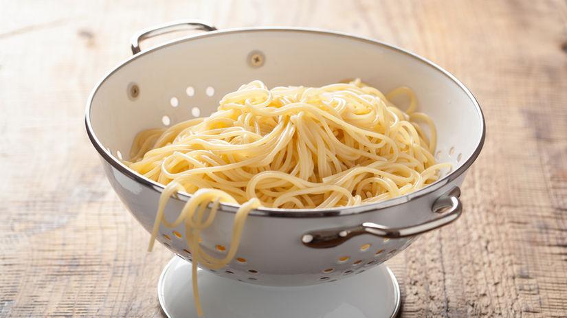 špagety, cedidlo, cestovina, sitko,
