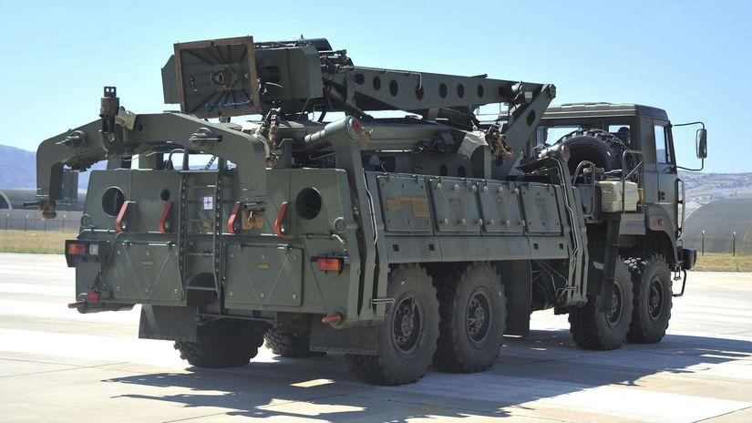 Turecko Rusko S-400 rakety testy