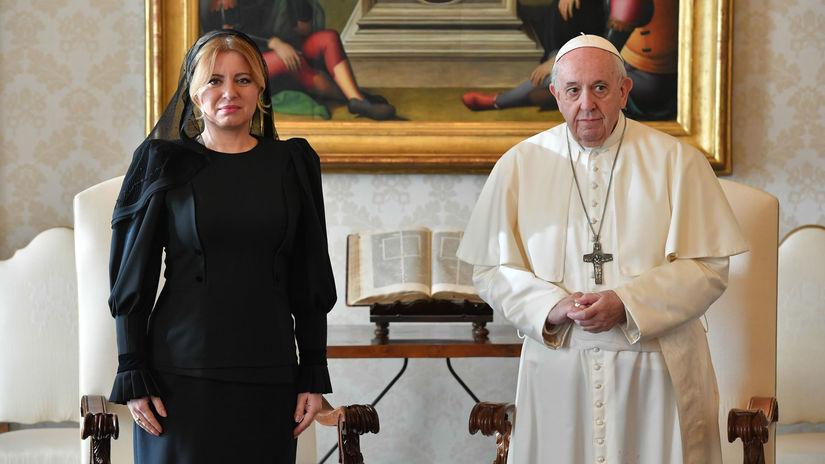 Vatikán čaputová Pápež