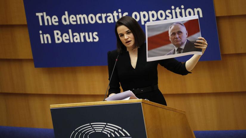 APTOPIX Belgium EU Sakharov Prize
