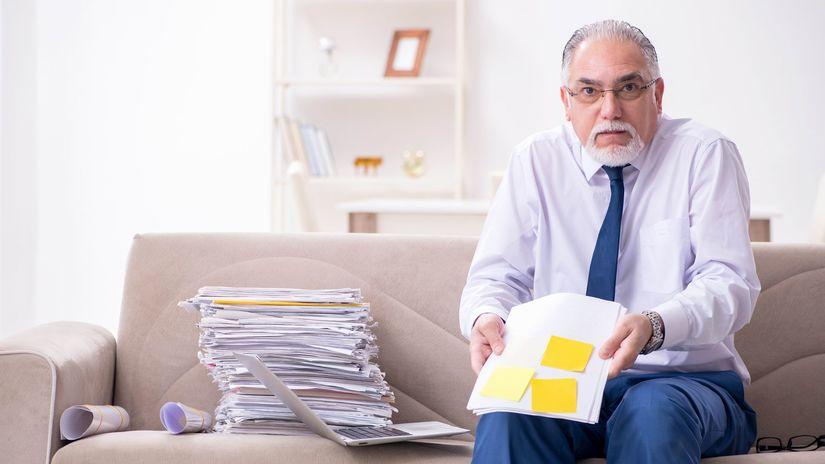 muž, papier, otázka, hnev, papiere, práca
