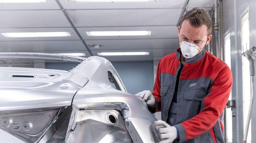 Audi e-tron GT - výroba Böllinger Höfe