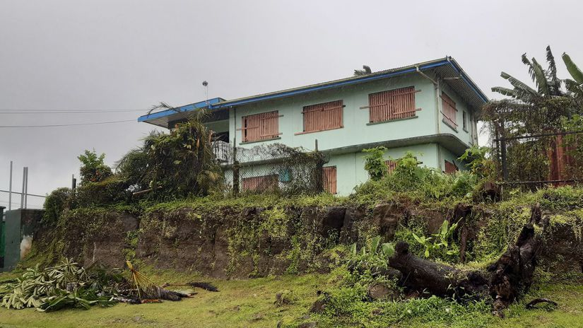 fidži cyklón hurikán Suva