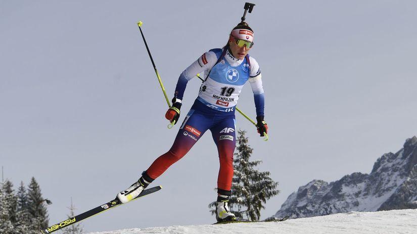 Rakúsko biatlon ženy SP šprint 7,5km Fialková