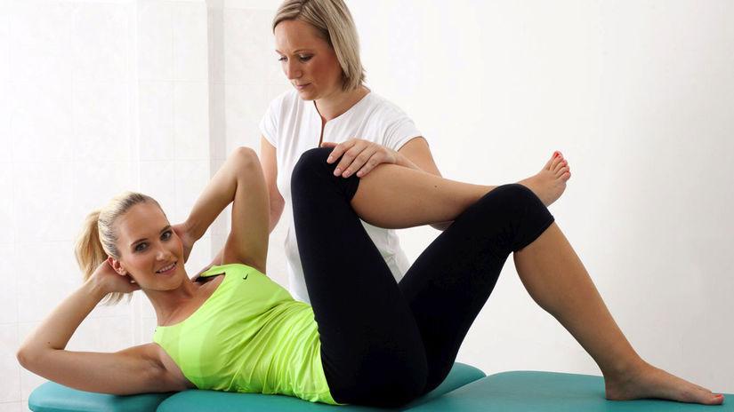 Kúpele Luhačovice, liečba, chrbtica, cvičenie