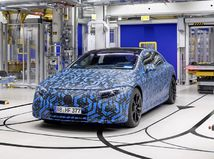 Mercedes-Benz - elektromobily
