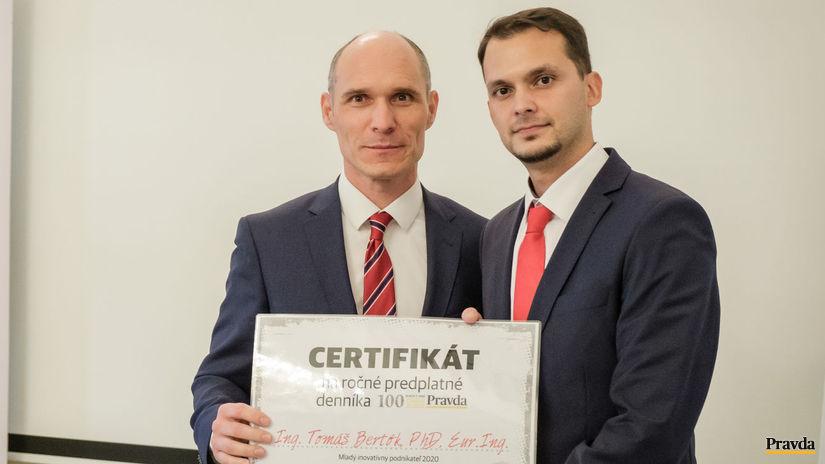 Mladý inovatívny podnikateľ 2020, Tomáš Bertók