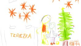 moje najkrajsie vianoce 2020 kresba-KRATKOVA