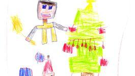 moje najkrajsie vianoce 2020 kresba-MURANICA