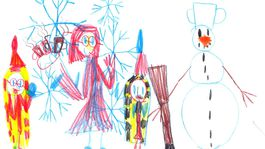 moje najkrajsie vianoce 2020 kresba-SKANTAROVA