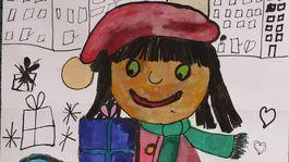 moje najkrajsie Vianoce kresba 2020, Stanislava Janičová,