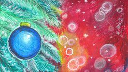 moje najkrajsie vianoce kresba-KABATOVA