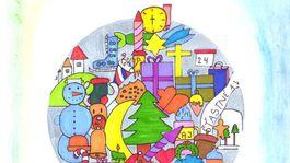moje najkrajsie vianoce kresba-VLCKOVA