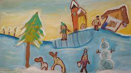 moje najkrajsie vianoce kreska 2020, emka kerakova