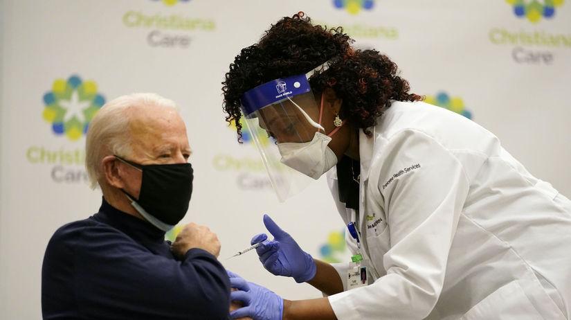 USA Biden Vakcína Očkovanie Koronavírus