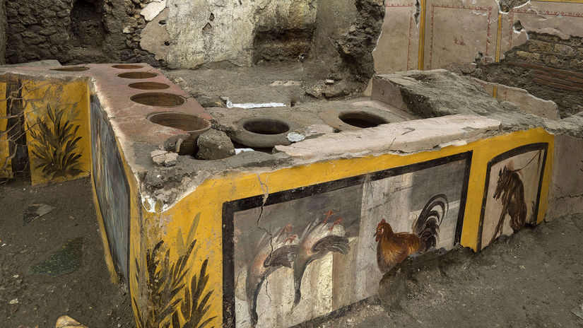 Italy Pompeii Fast Food