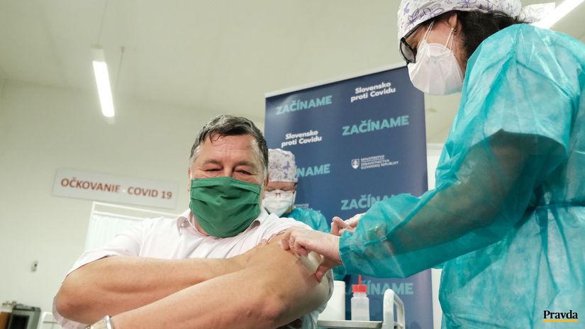 vakcína, Nitra, Vladimír Krčméry