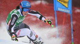 Lyžovanie obrovský slalom 1.kolo Vlhová