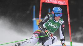 Lyžovanie SP obrovský slalom 1.kolo Vlhová