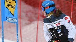 obrovský slalom 1.kolo Vlhová