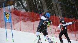 Rakúsko SR Lyžovanie SP obrovský slalom 1.kolo Vlhová